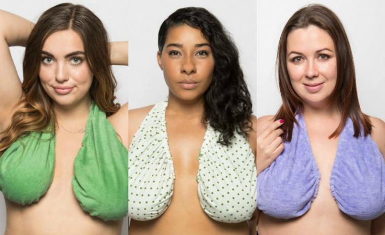 Ta-Ta Towel, solusi untuk mengatasi masalah keringat pada payudara. (Dok: vix)