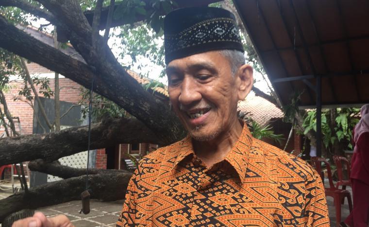 Ketua FSPP Kota Serang Hidayatullah saat memberikan keterangan kepada wartawan. (Foto: TitikNOL)