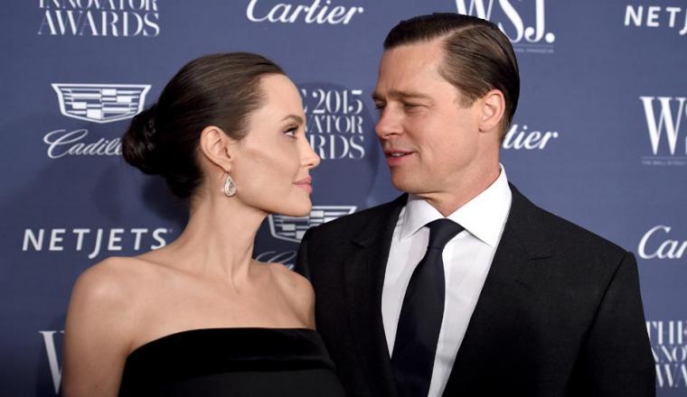 Angelina Jolie dan Brad Pitt. (Dok: inquisitr)