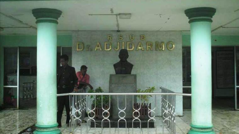 Bangunan lama RSUD Dr. Adjidarmo. (Dok: akumassa)