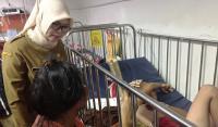 Pelaku pembacokan dan penganiayaan kepada salah satu petugas keamanan pasar Ciruas. (Foto: TitikNOL)