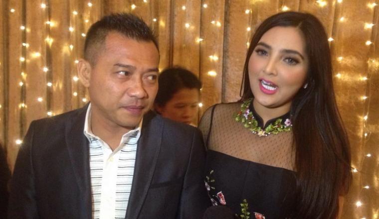 Pasangan selebriti, Anang Hermansyah dan Ashanty. (Dok: okezone)