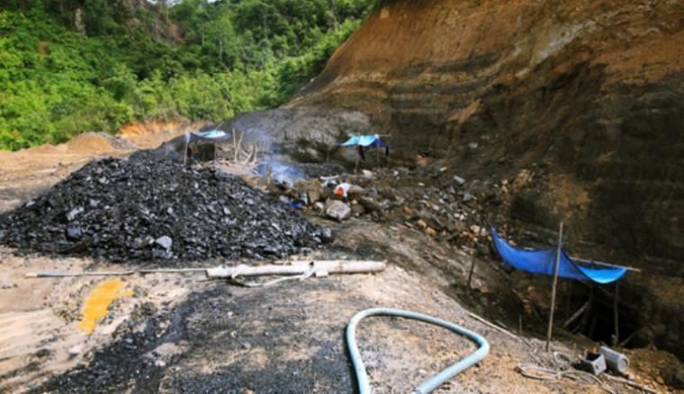 Ilustrasi tambang batu bara. (Dok: net)