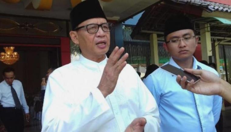 Gubernur Banten Wahidin Halim bersama Wakil Gubernur Banten Andika Hazrumy. (Dok: indosport)