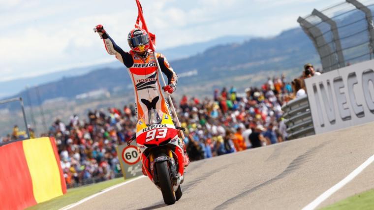 Marc Marquez juara MotoGP Aragon 2017. (Dok: motogp)