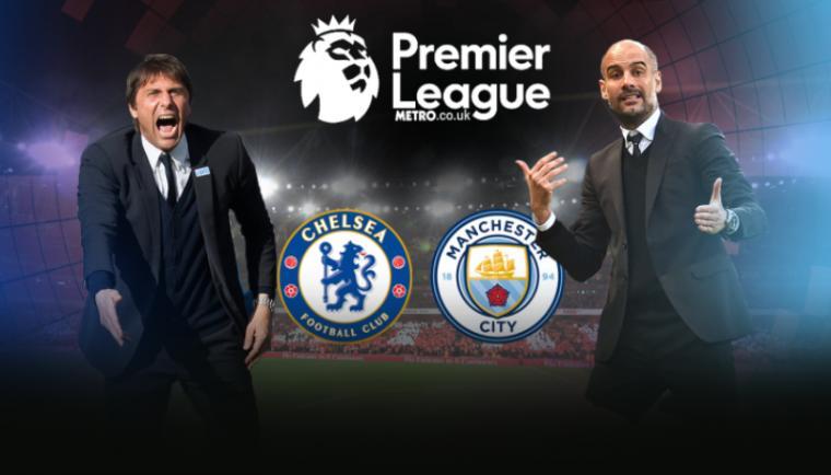Chelsea vs Manchester City. (Dok: Metro)