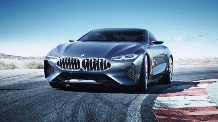 BMW Seri-8. (Dok: topgear)