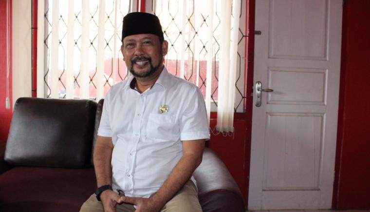Ketua DPC PDIP Kota Serang, Bambang Djanoko. (Dok: koranbanten)