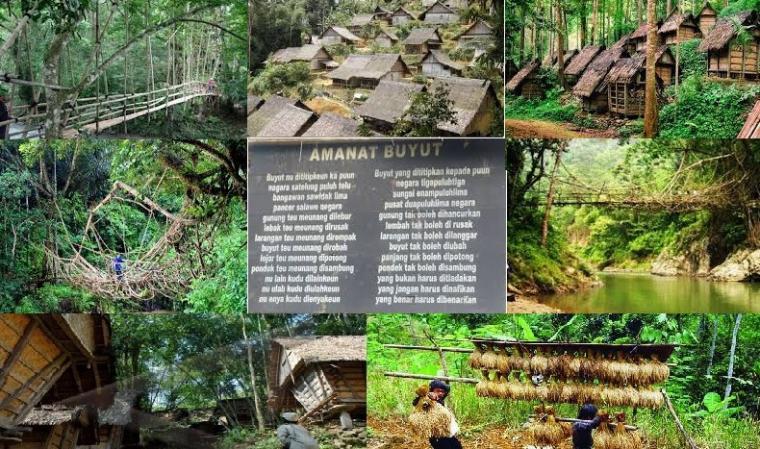 Objek wisata Suku Baduy. (Dok: kaskus)