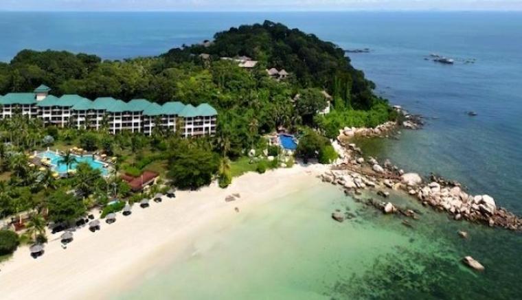 Wisata pantai Tanjung Lesung. (Dok: pegipegi)