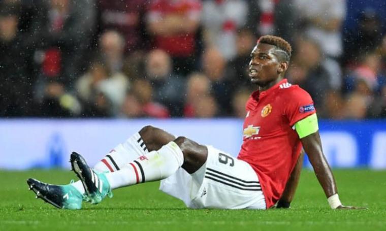 Paul Pogba didera cedera hamstring saat melawan FC Basel. (Dok: dailystar)