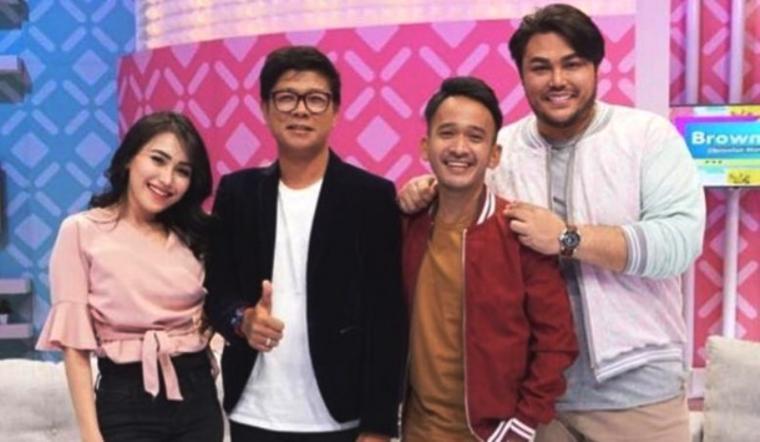 Ayu Ting Ting, Andika Kangen Band, Ruben Onsu dan Ivan Gunawan. (Dok: detik)