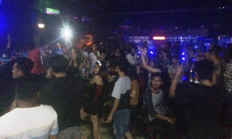 Suasana diskotik di salah satu tempat hiburan malam di Kota Cilegon. (Dok: TitikNOL)