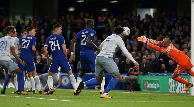 Chelsea vs Everton. (Dok: net)