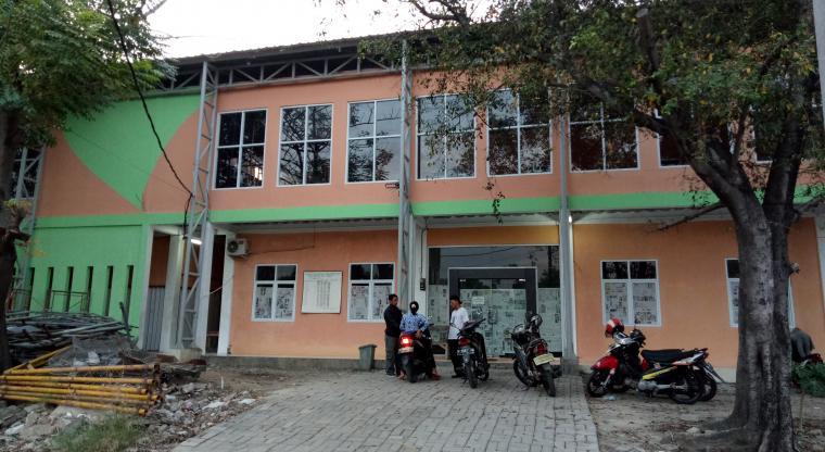 Suasana Kantor UPTD Pasar Blok F Cilegon. (Foto: TitikNOL)