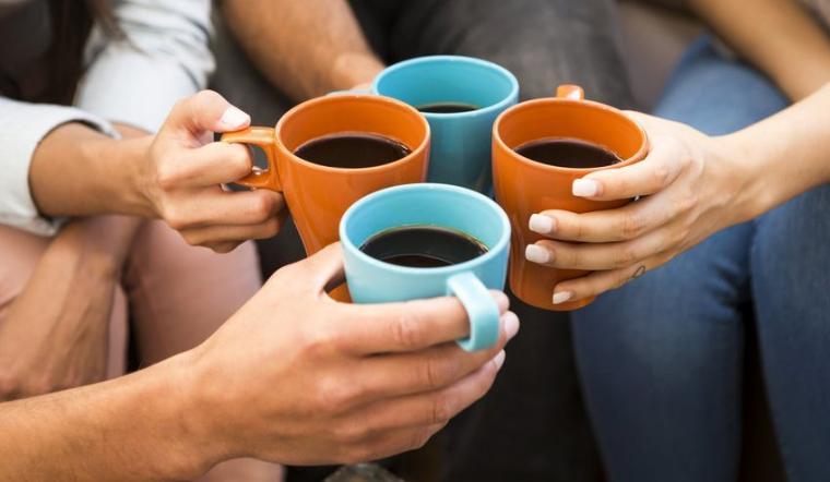 Ilustrasi minum kopi. (Dok: sciencedaily)