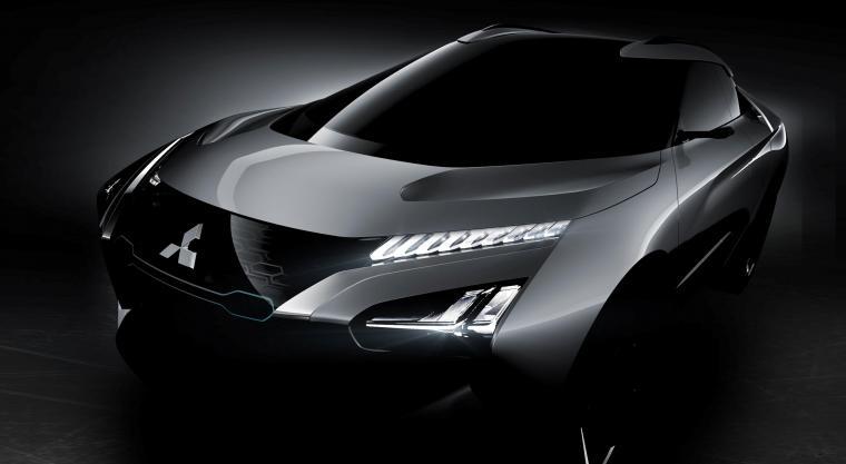 Mitsubishi SUV listrik e-Evolution. (Dok: cnet)