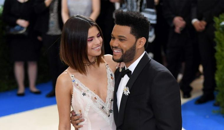 Selena Gomez dan The Weeknd. (Dok: marieclaire)