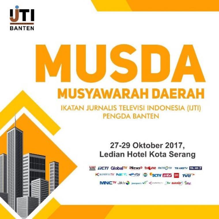 Musyawarah Daerah Ikatan Jurnalis Televisi Indonesia (IJTI) ke- 3. (Foto: Ist)
