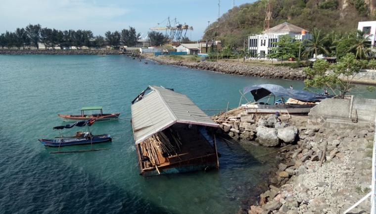Inilah lokasi akan dibangun dermaga 7 Pelabuhan Merak. (Foto: TitikNOL)