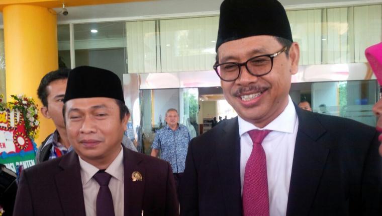 Ketua DPW PKS Provinsi Banten Miftahudin memastikan Subadri Usuludin akan berpasangan dengan Ranta Soeharta di Pilkada Kota Serang 2018. (Foto: TitikNOL)