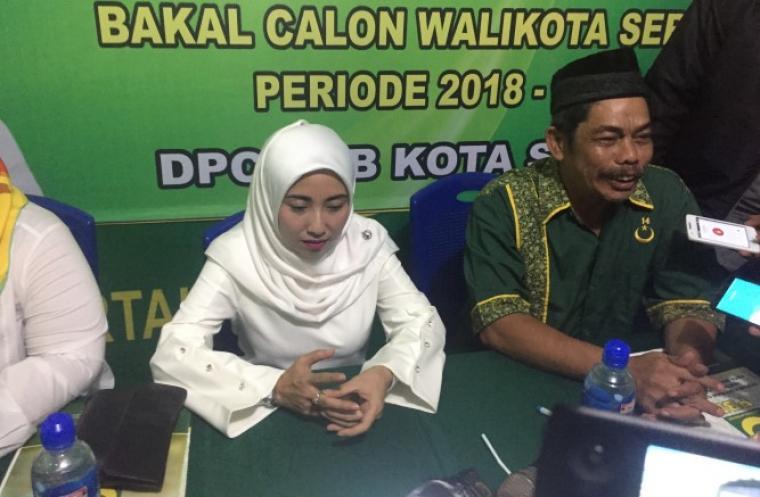 Bakal Calon Wali Kota Serang Vera Nurlela Jaman. (Foto: TitikNOL)