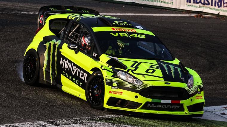 Valentino Rossi juara Reli Monza 2017. (Dok: youtube)