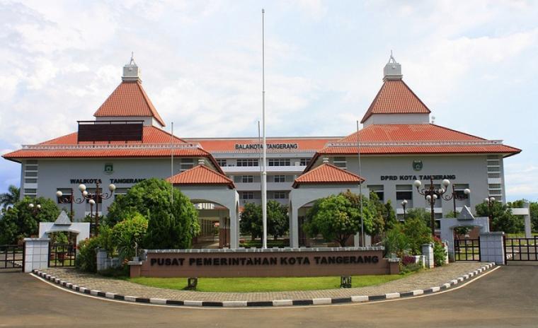 Pusat Pemerintahan Kota Tangerang. (Dok: kabarin)