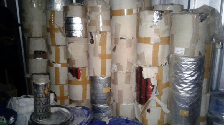 Bahan pembuat narkoba jenis PCC yang diamankan dari salah satu rumah dan gudang di kawasan perumahan di Cijoro Pasir, Kecamatan Rangkasbitung, Kabupaten Lebak. (Foto: TitikNOL)