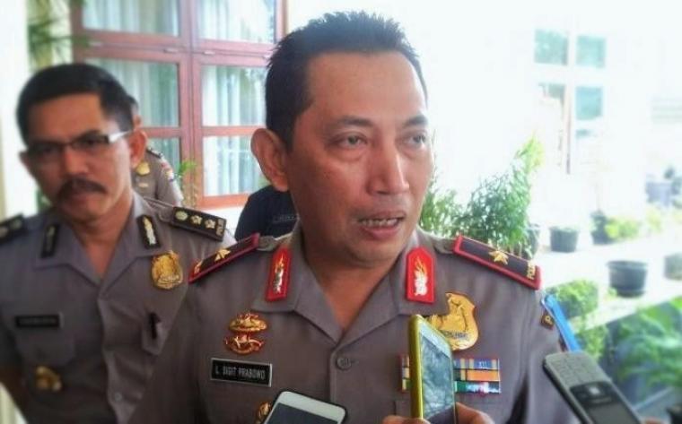 Kapolda Banten Brigjen Pol Listyo Sigit Prabowo. (Dok: nusantaranews)