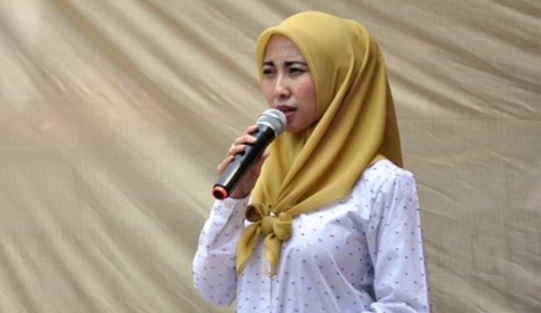 Bakal Calon (Balon) Wali Kota Serang, Vera Nurlaela Jaman. (Dok: mediabnr)
