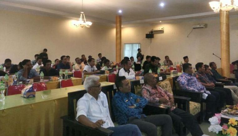 Suasana KLW yang digelar PWI Lebak di Hotel Mutiara Kalanganyar, Kabupaten Lebak. (Foto: TitikNOL)