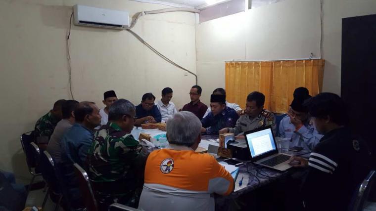Suasana Komisi Pemilihan Umum (KPU) Kota Tangerang melakukan persiapan dini jelang rencana deklarasi kampanye damai yang bakal dilaksanakan pada 14 Feb 2018 mendatang. (Foto: TitikNOL)