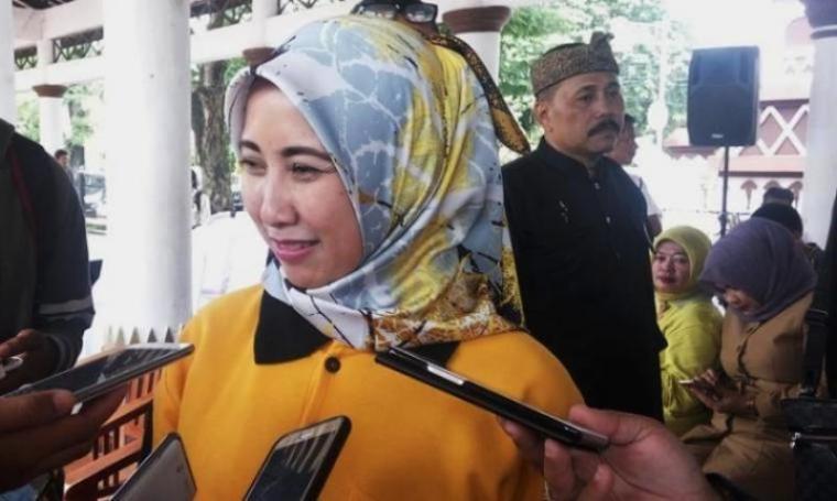 Bakal Calon (Balon) Wali Kota Serang Vera Nurlaela Jaman. (Dok: TitikNOL)