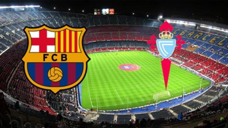 Ilustrasi Barcelona vs Celta vigo. (Dok: FcBarcelonanoticias)