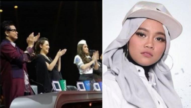 Juri Indonesian Idol 2018 dan Ayu. (Dok: Tribunnews)