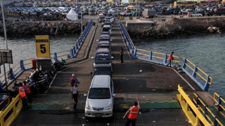 Dermaga V Pelabuhan Merak. (Dok: Liputan6)