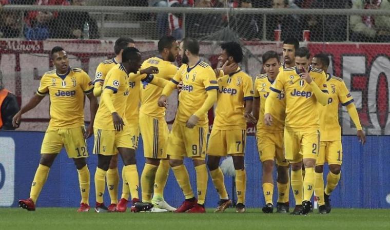 Sejumlah pemain Juventus. (Dok: Tirto)