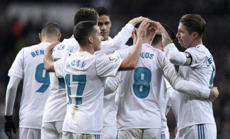 Sejumlah pemain Real Madrid. (Dok: Radarsukabumi)
