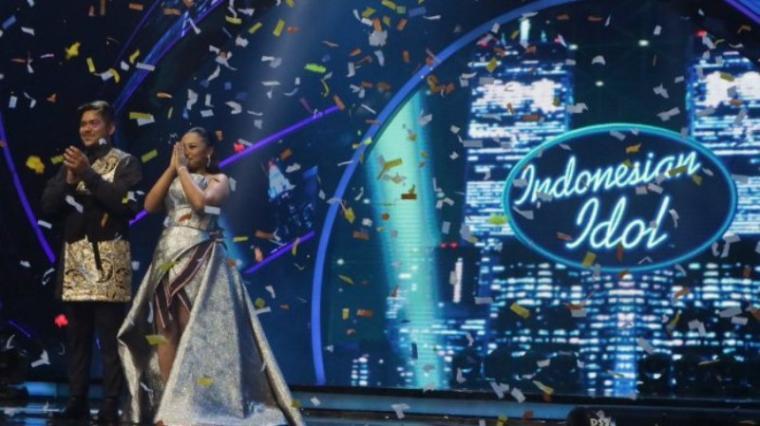 Kedua kontestan Indonesian Idol 2018. (Dok: Tribunnews)