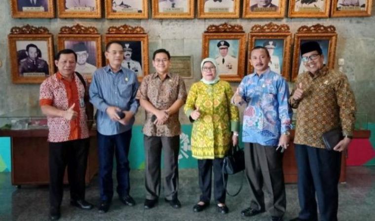 Ketua Komisi I DPRD Provinsi Banten, Zaid Elhabib saat melakukan kunjungan kerja.