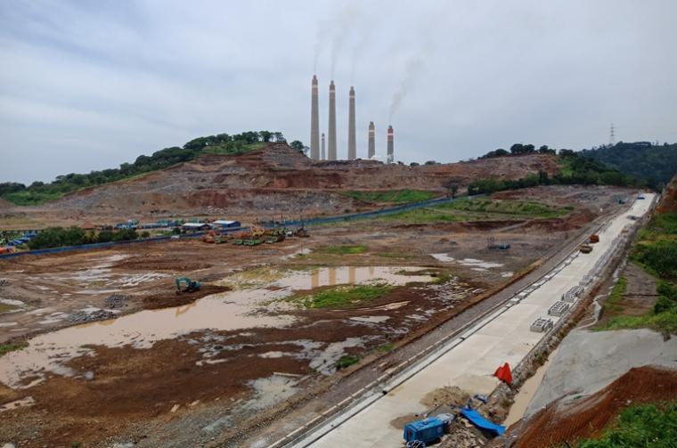 Suasana Pra-konstruksi pembangunan Unit 9 dan 10 PLTU Suralaya. (Foto: TitikNOL)