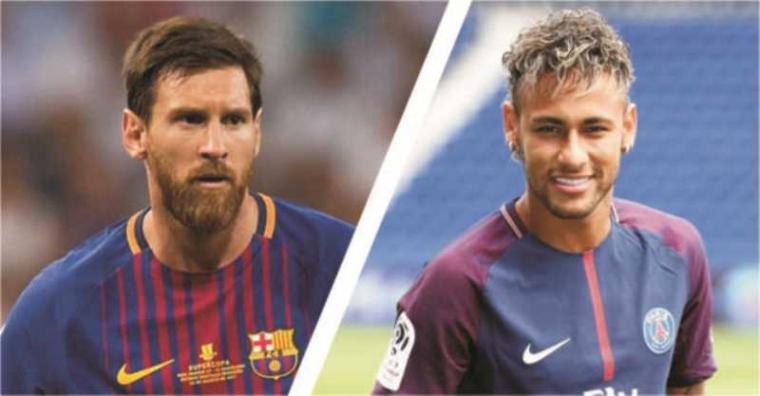 Lionel Messi - Neymar Jr. (Dok: Pojoksatu)