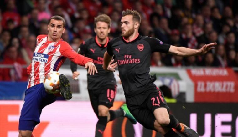 Atletico Madrid vs Arsenal. (Dok: Bolasport)