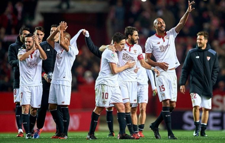 Sejumlah Pemain Sevilla. (Dok: Comfortbet)
