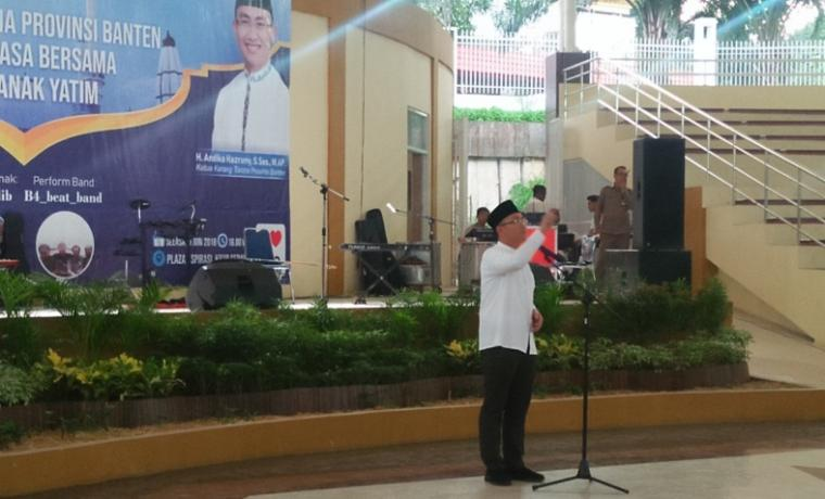 Andika Hazrumi, Ketua Karang Taruna Provinsi Banten