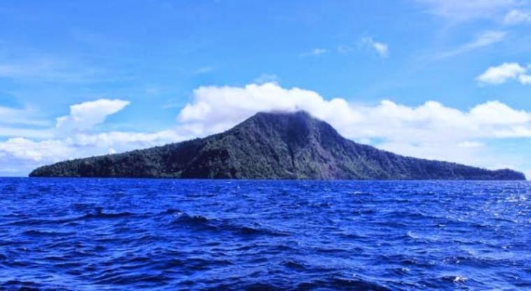 Gunung Krakatau. (Dok: Bantenwisata)