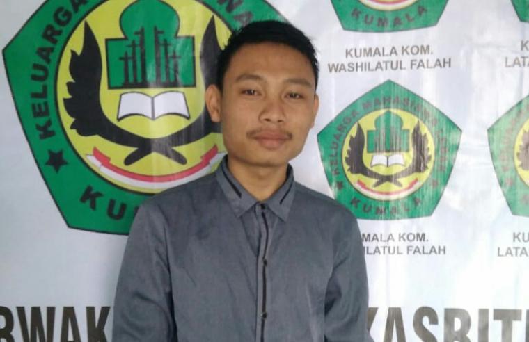 Asep Dwi Saputra Sekretaris Kumala Perwakilan Rangkasbitung. (Foto: TitikNOL)