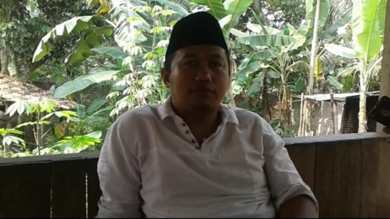 Junaedi Ibnu Jarta, ketua DPRD Kabupaten Lebak. (Foto: TitikNOL)