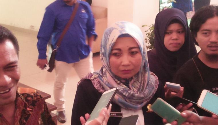 Teguh Rahayu kepala stasiun geofisika tangerang saat ditemui media. (Foto: TitikNOL)